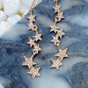 Line Dancing Star Earrings